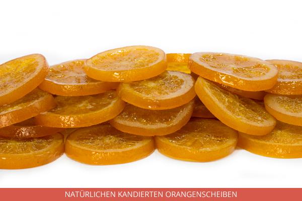 Natürlichen Kandierten Orangenscheiben - Ambrosio