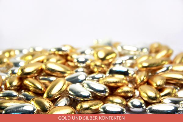 Gold und Silber Konfekten - Ambrosio