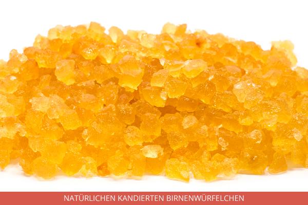Natürlichen Kandierten Birnenwürfelchen - Ambrosio