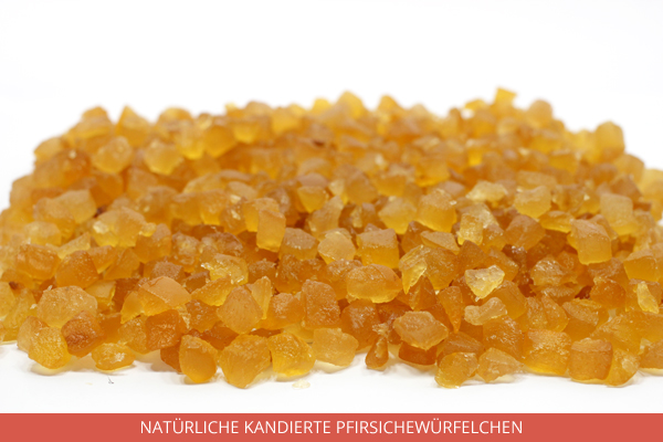 Natürliche Kandierte Pfirsichewürfelchen - Ambrosio