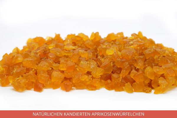 Natürlichen Kandierten Aprikosenwürfelchen - Ambrosio