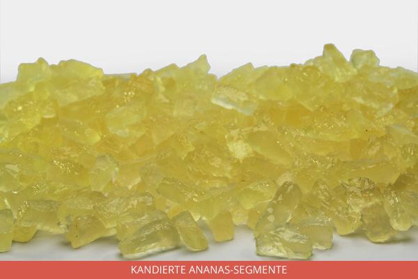 Kandierte Ananas Segmente - Ambrosio
