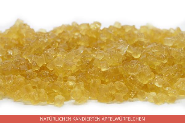 Natürlichen Kandierten Apfelwürfelchen - Ambrosio
