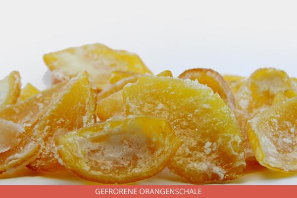 Gefrorene Orangenschale - Ambrosio