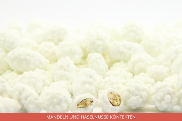 Mandeln und Haselnüsse Konfekten - Ambrosio