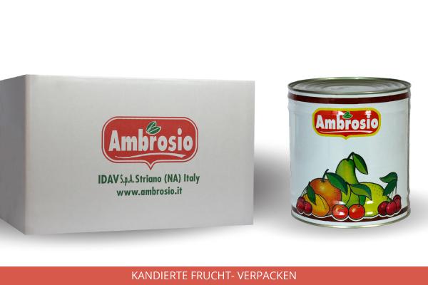 Kandierte Frucht Verpacken - Ambrosio