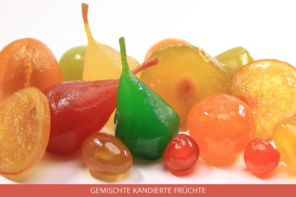 gemischte kandierte Früchte - Ambrosio