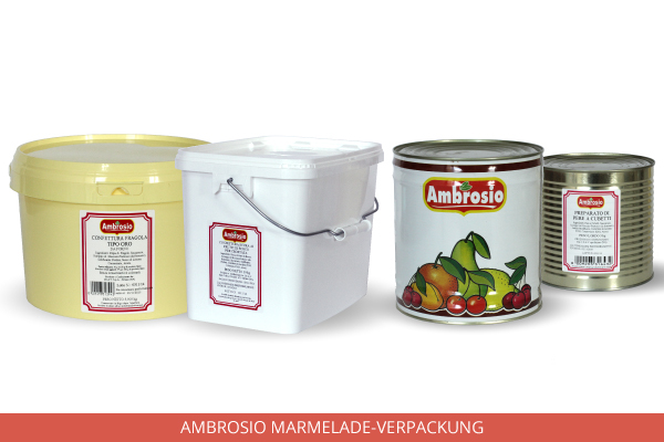 Packaging Marmellata Ambrosio