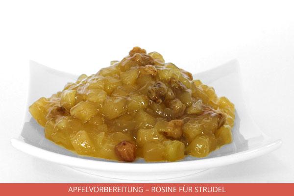 Apfelvorbereitung Rosine für Strudel - Ambrosio