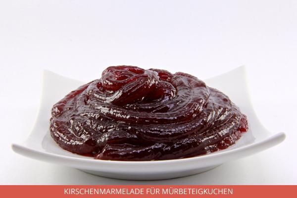 Kirschenmarmelade für Mürbeteigkuchen - Ambrosio