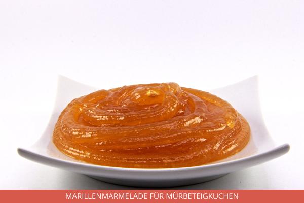 Marillenmarmelade für Mürbeteigkuchen - Ambrosio