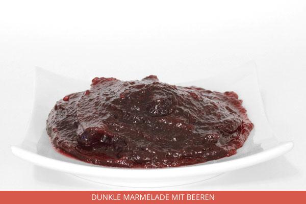 Dunkle Marmelade Mit Beeren - Ambrosio