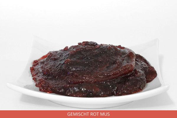 Gemischt rot Mus - Ambrosio