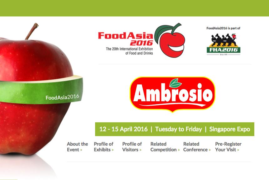 Food Asia 2016 Singapore
