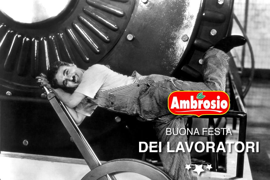 Ambrosio - Buona Festa dei Lavoratori