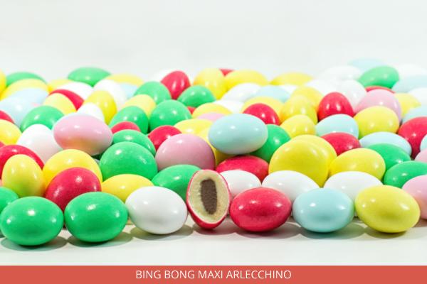 Confetti Bing Bong Maxi Arlecchino - Ambrosio