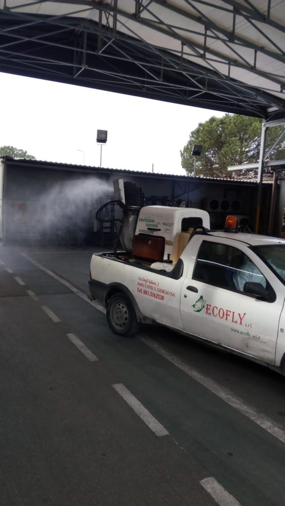 Disinfezione aree esterne Ambrosio IDAV spa