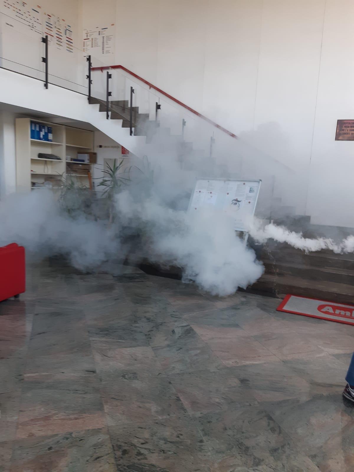 Disinfezione aree interne Ambrosio IDAV spa